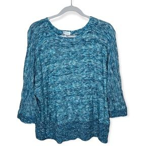 Avenue knit sweater 3/4 sleeves